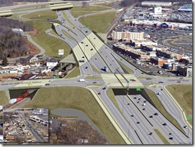 Linton Hall Road Interchange