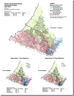 Redistricting Maps GC Draft April 2011