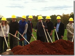 blue mountain brewery Groundbreaking