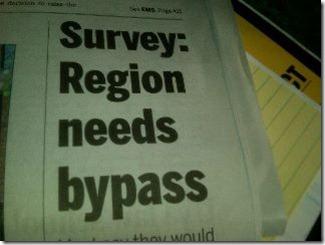bypass Survey Headline