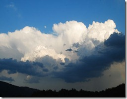 summer thunderstorm Ann Stromber Nelson County Life