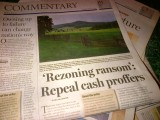 Rezoning Ransom OpEd Headline Daily Progress 3 March 2013