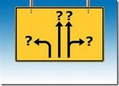 directional question sign