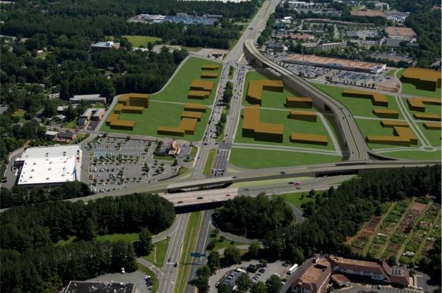 VDOT's last attempt at US29/250 interchange