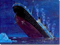 titanic sinking credit redbubble