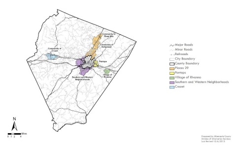 Image result for Albemarle county development area