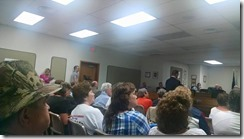 Greene County BOS meeting July 2015