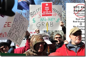 Reston march 4 Parking Protest Phot Credit Angela Woolsey Fairfax County Times